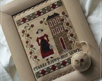Maude Rigley / Cross stitch pattern
