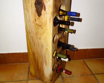 Winerack handmade wine log