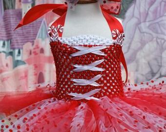 Candy Cane tutu, Christmas tutu, Holiday tutu, Christmas tutu dress,Photo shoot dress, First Christmas Dress
