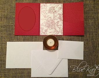 DIY Wedding Invitation Suite - Pocket Photo Design