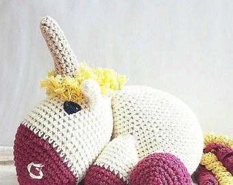 Organic cotton stuffed animal