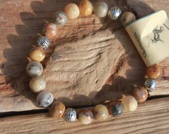 Healing Bracelet- Crazy Lace Agate