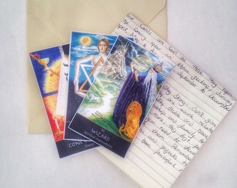 Snail Mail 3 Card Wiccan Spread for the next 12 months.