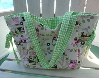 Owl, summer handbag