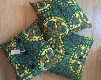 Cushion made from 1950s vintage fabric