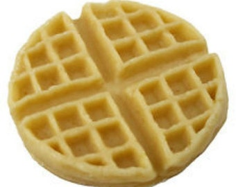 Waffle large-Wax Fake Foods-by-Geltyme