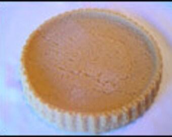 9 inch Tart Shell Wax Shell - Wax Fake Foods