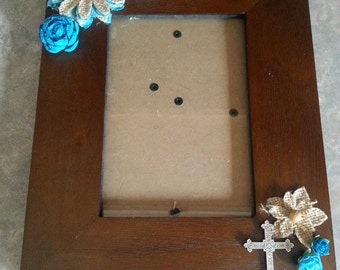 Religious picture frame
