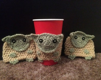 Yoda Cup Cozies