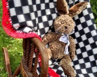 Racecar Baby Blanket