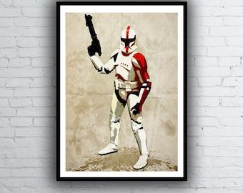 Star Wars Poster CloneTrooper
