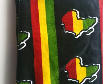African pocket square. African fabric. Africa