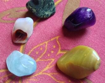 Stone and Crystal Set - Breaking Addiction / Bad Habits  MWCSCS003