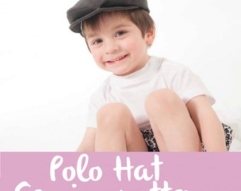 Sewing Patterns Polo Hat kids