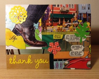 Set of 2 Mad Men Thank-You Cards