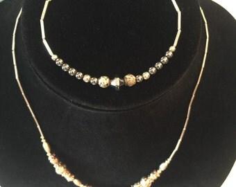 Vintage Native American style necklace and bracelet set