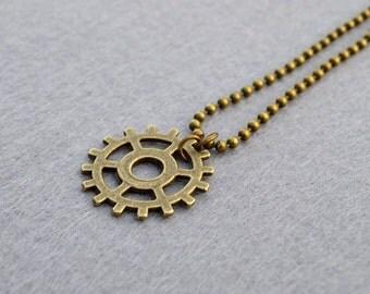 Commander Lexa Headpiece Antique Brass Ballchain Necklace The 100