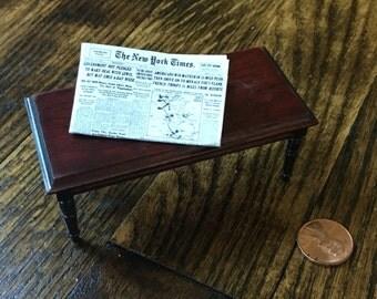 Vintage dollhouse table
