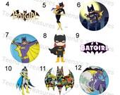 Items Similar To Batgirl Edible Cake Cupcake Or Cookie