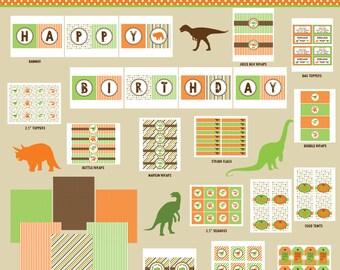 Dinosaur Party Printables   Party Printables Dinosaur