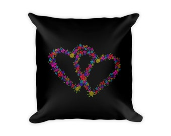 """Pillow case/cover, 18"""" x 18"""", featuring an image (pillow-100003)"""