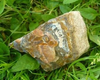 Raw Boulder Opal in Sedimentary Matrix, 175g