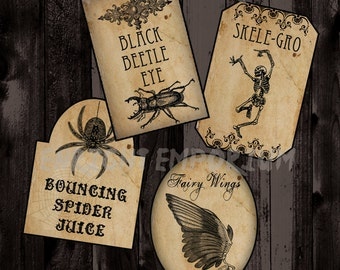 Harry Potter Inspired Potion Labels Digital Download