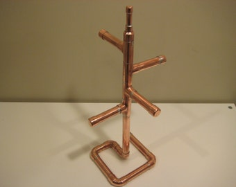 Copper Jewelry Stand