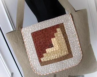 patchwork handmade bag , textile bag, embroidery bag,