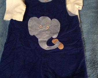 Vintage Elephant Deess outfit