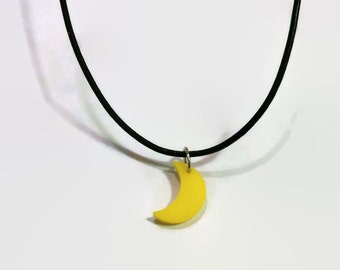 Moon Cord Necklace