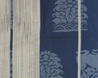 fantastic vintage yabane rabbit kimono
