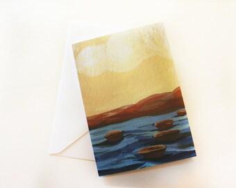 "Greeting Card ""j"" Illustration"