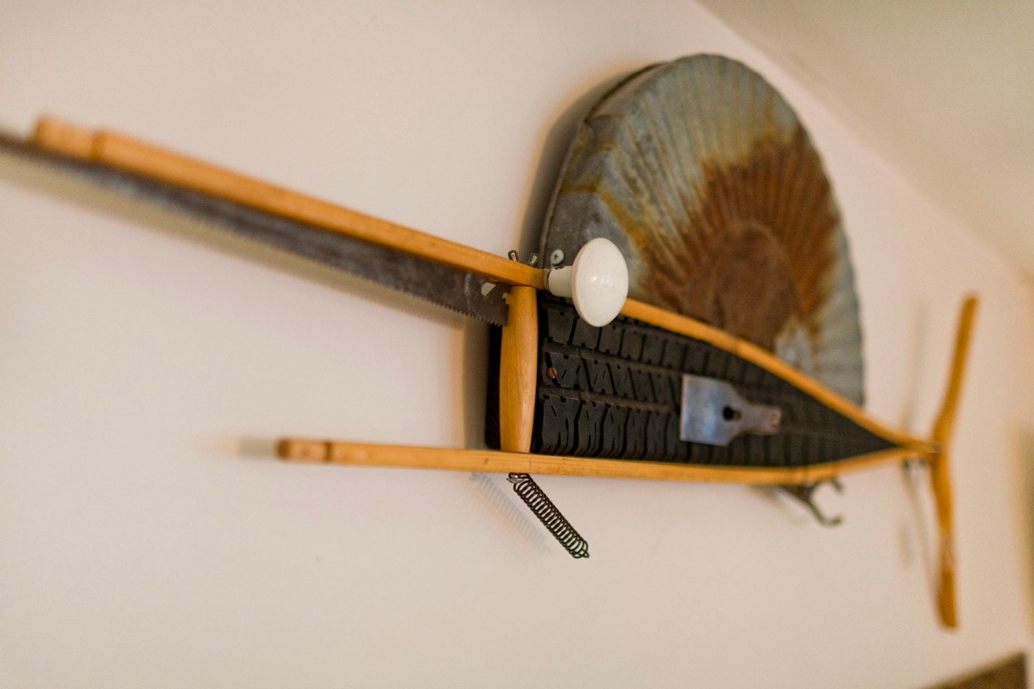 The Sailfish Fish Art Made From Repurposed Crutch Tire
