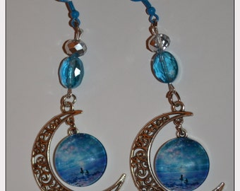 "Earrings: ""Twilight"""