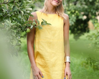 Beautiful summer Linen Dress