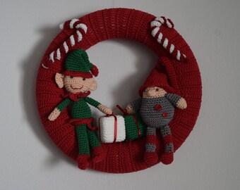 Santas Workshop Wreath