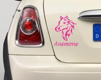 """Bumper sticker """"Horse"""""""