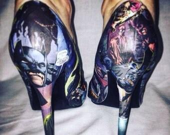 Batman Comic Book Heels