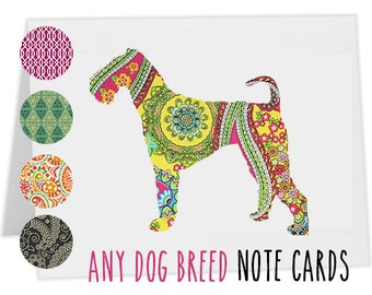 Airedale Note Cards - Set of 12