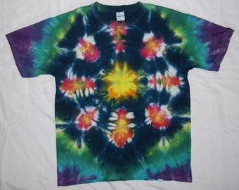 Kids Large Kaleidoscope Tie-Dye T-Shirt