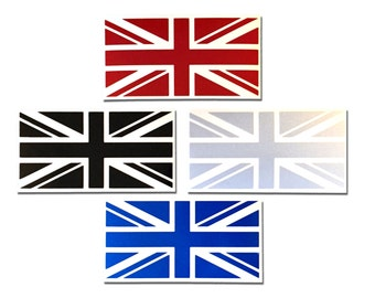 Reflective Union Jack Decal