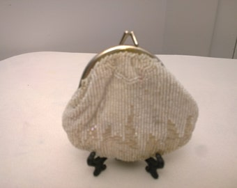 Antique Seed Pearl Change Purse