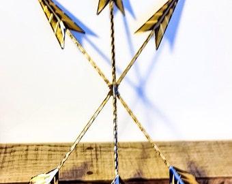 gold wall arrow arrow decor gold wall decor bohemian decor arrow wall - Home Decor Wall Hangings