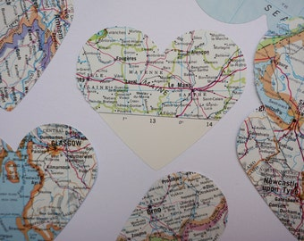 Large Atlas Heart Confetti (30 pieces)