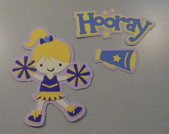 Cheerleader Cricut Die Cut Set