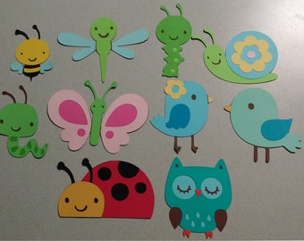 Birds and Bugs Die Cuts