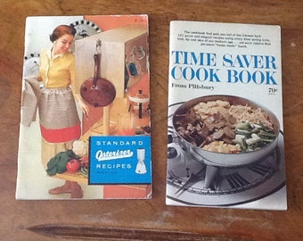 Vintage cookbooks from the late 1960s