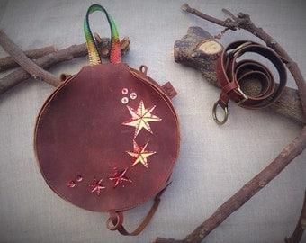 ranga HALAKOM. Hand & shoulder leather bag