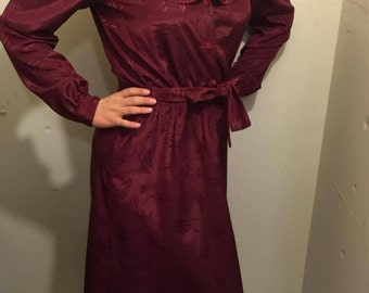 Red Secretary Dress